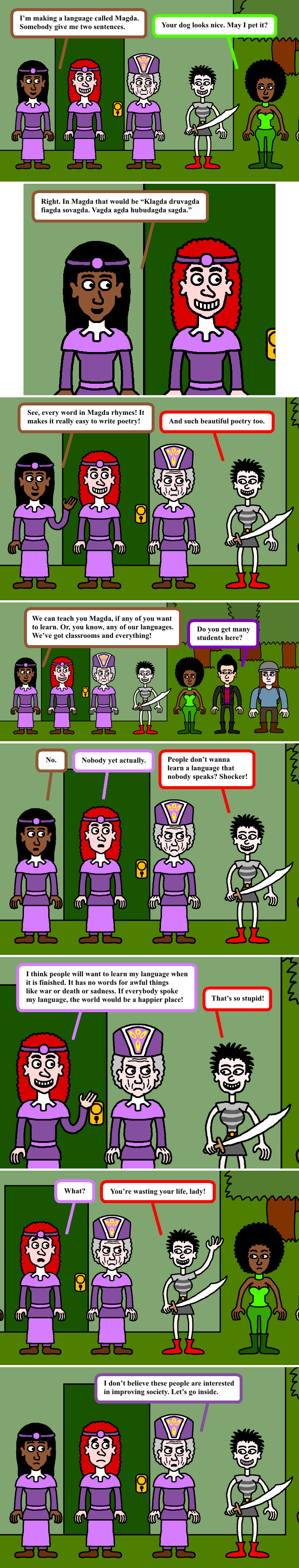 The Scepter of Death 8
